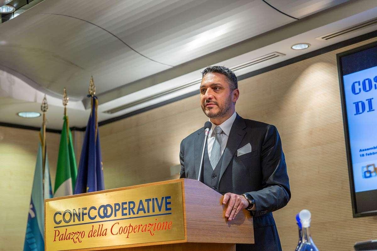 Marcocci eletto presidente di Confcooperative Roma