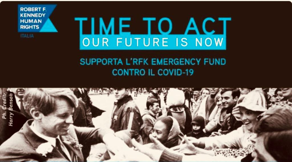 La Fondazione RF Kennedy con la Protezione Civile