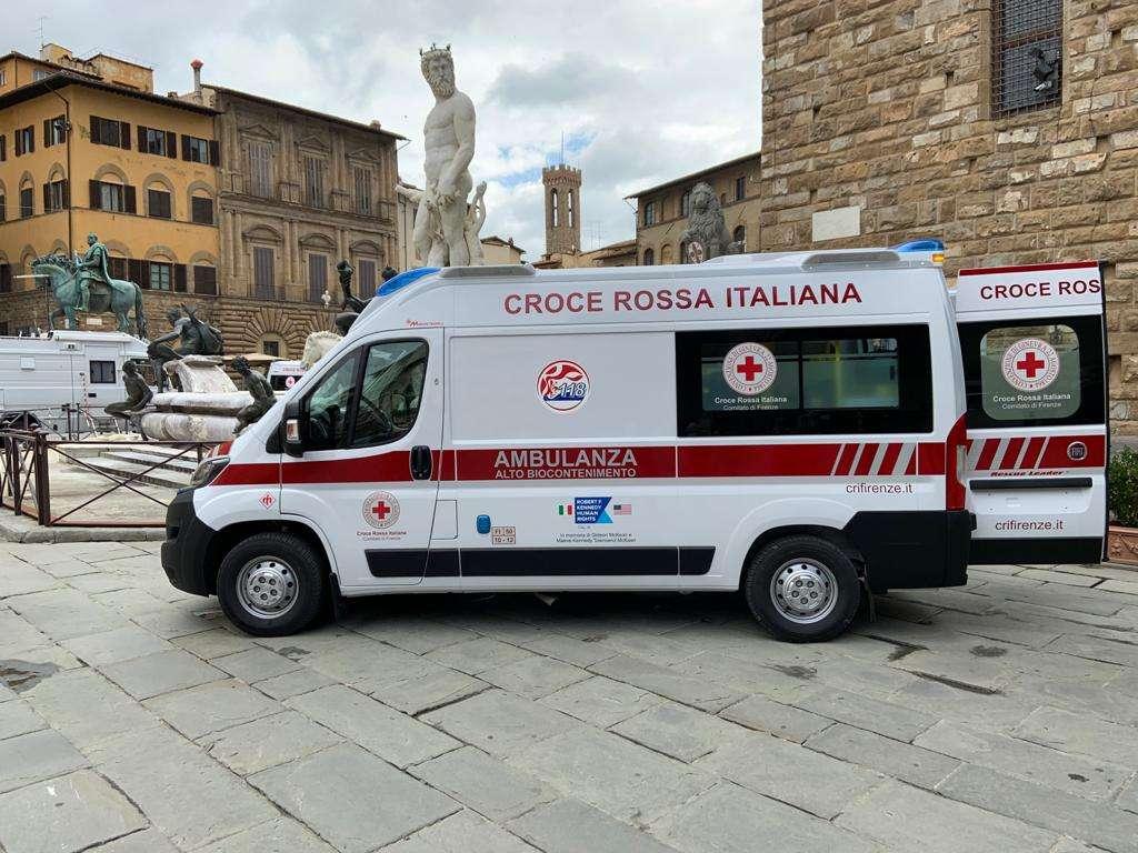 Covid-19: R.F.K e Croce Rossa insieme per Firenze