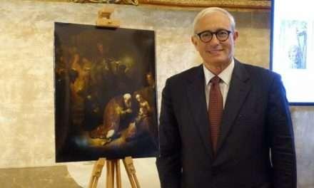 Rembrandt ritrovato a Roma, presentato a Villa Medici da Fondazione Patrimonio Italia
